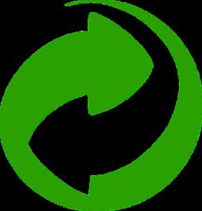 Mülltrennung mit dem Grünen Punkt