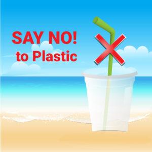 karneval plastikfrei-plastikbecher mit strohhalm