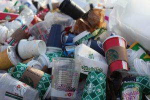 Takeaway bedeutet häufig Plastikmüll