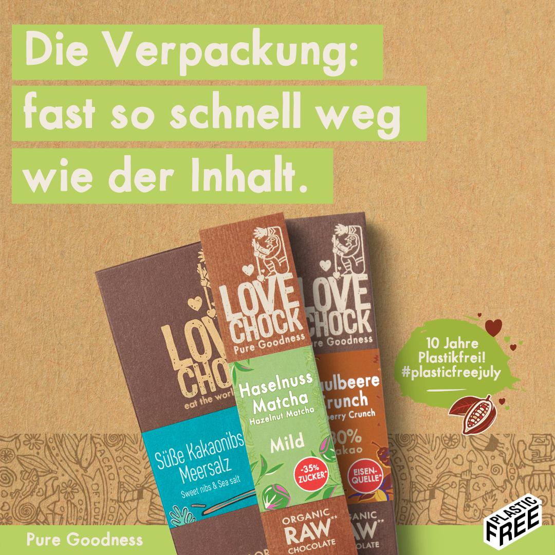 Lovechock Schokolade