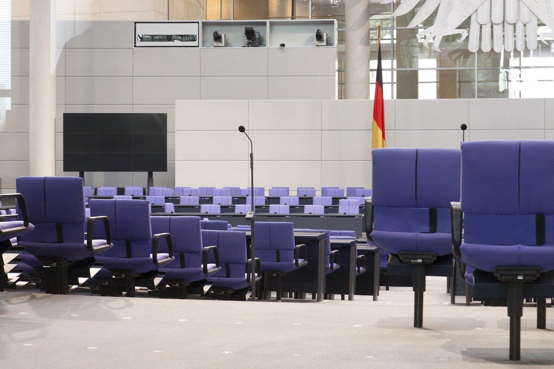 Bundestagswahl Plenarsaal